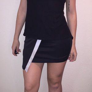 Charlotte Russe Black Mini Skirt - Size Small